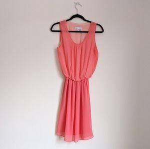 213INDUSTRY Peach Dress Size M